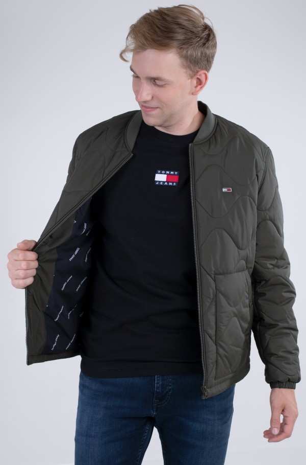 TJM QUILTED BOMBER