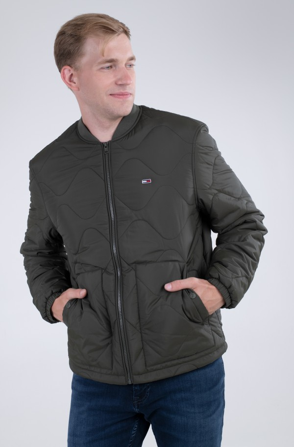 TJM QUILTED BOMBER-hover