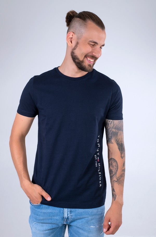 TOMMY FLAG SIDE TEE