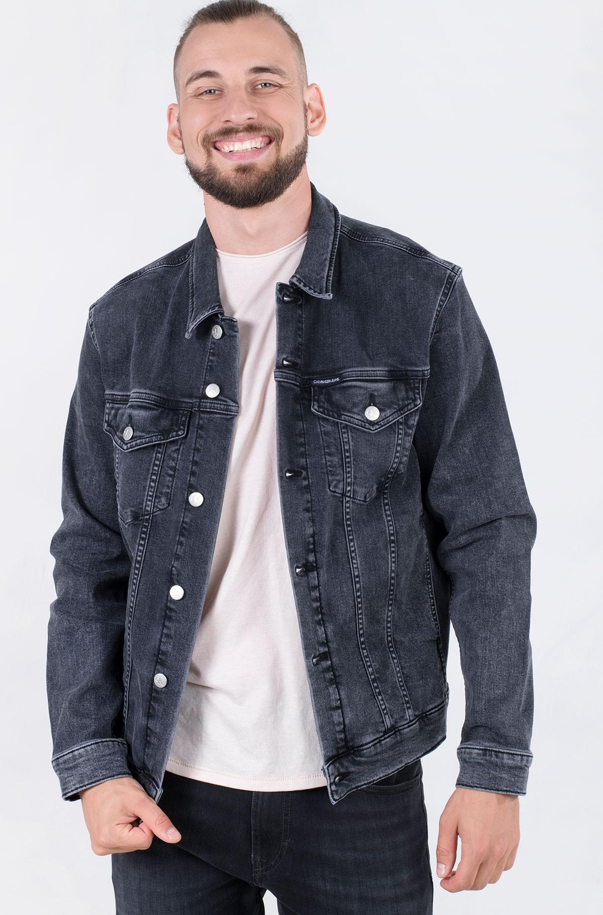 Denim jacket MODERN ESSENTIAL DENIM JACKET-full-2