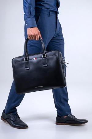 Arvutikott BUSINESS LEATHER SLIM COMP BAG-1