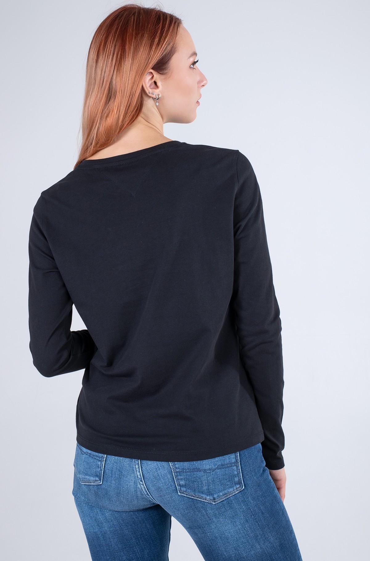 T-krekls ar garām piedurknēm  TJW SLIM ESSENTIAL TOMMY TEE LS-full-2