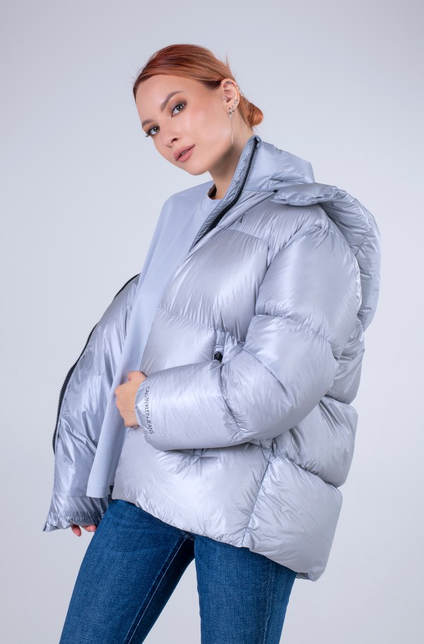 MW DOWN SHINY OVERSIZED PUFFER-hover