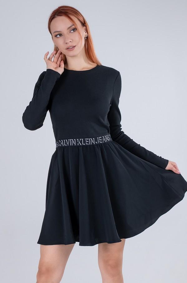 LOGO ELASTIC DRESS