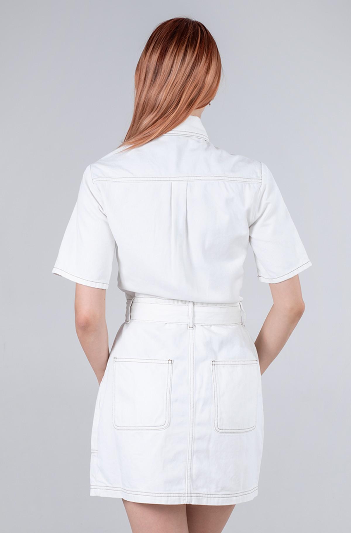 Teksakleit UTILITY TWILL DRESS AE795 SWR-full-2