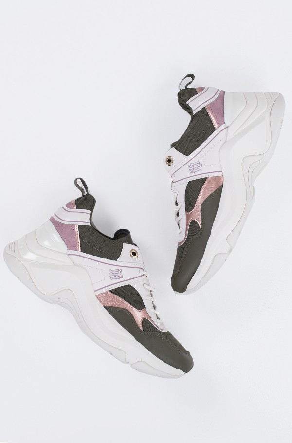 FASHION WEDGE SNEAKER-hover