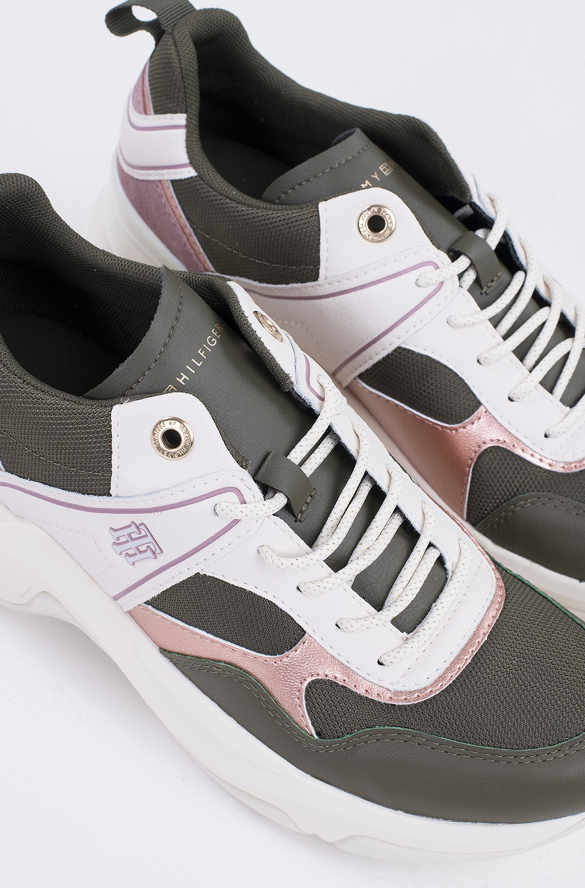 Casual shoes FASHION WEDGE SNEAKER-full-4