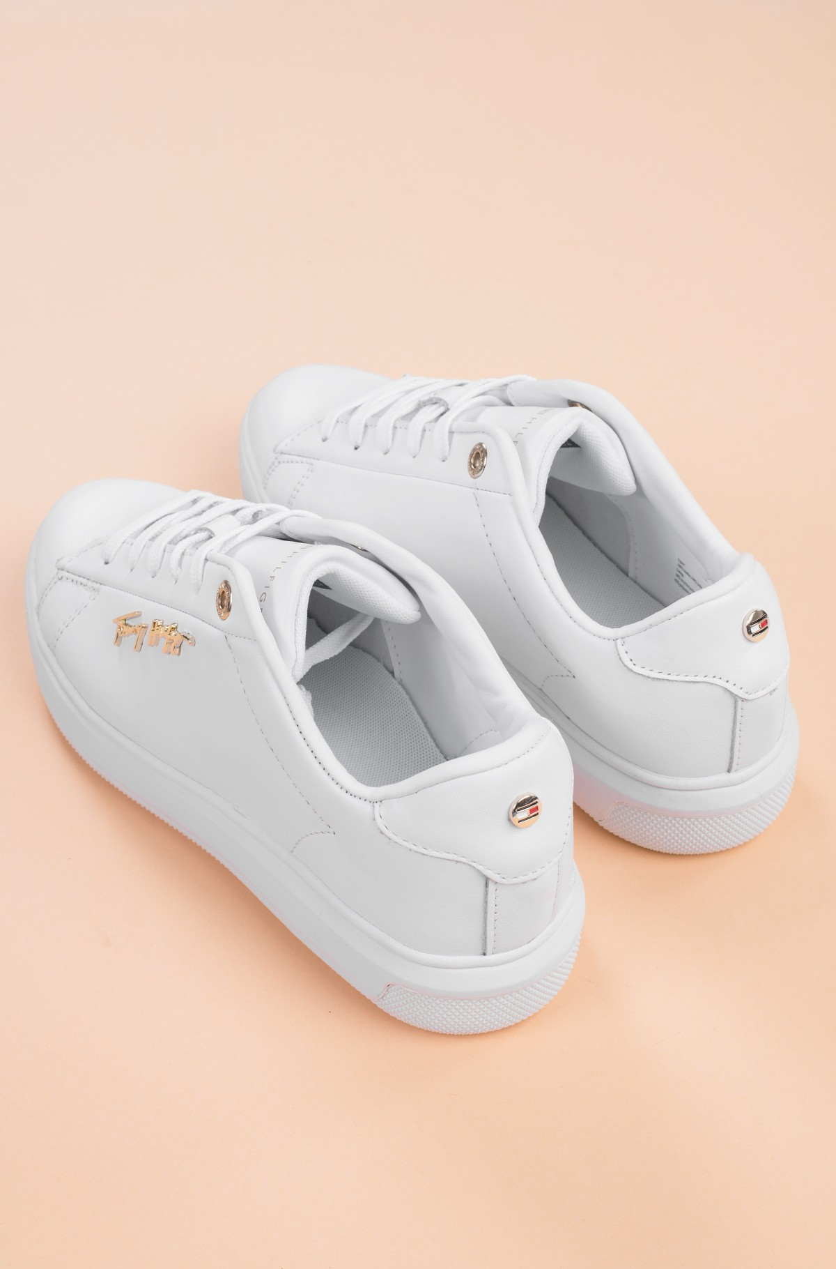 Casual shoes SIGNATURE LEATHER SNEAKER-full-4