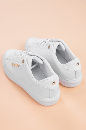 Casual shoes SIGNATURE LEATHER SNEAKER-4