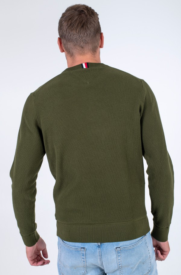 BASIC STRUCTURE CREW NECK-hover