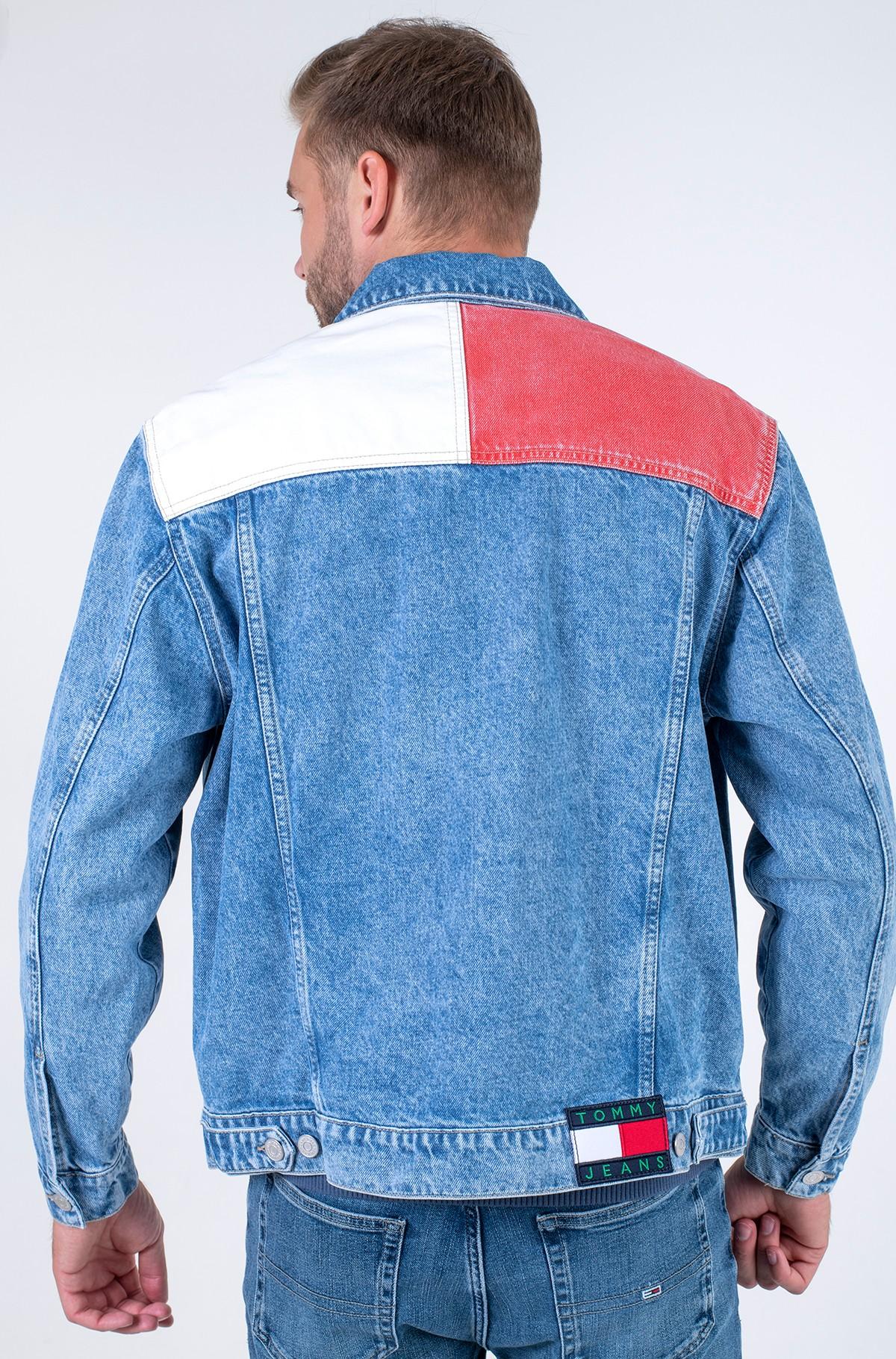 Denim jacket OVERSIZE TRUCKER JK AE712 SVLBRD-full-2