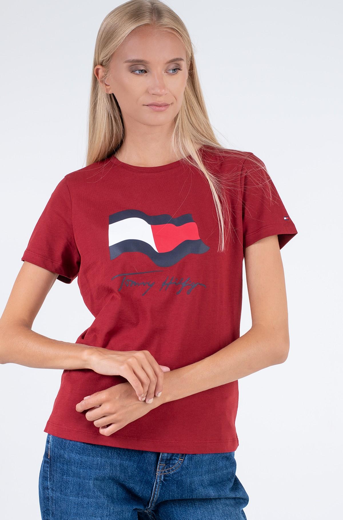 T-shirt ABO REGULAR MOTION FLAG TEE-full-1