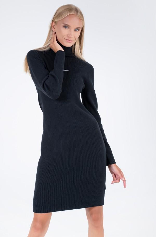 MICRO BRANDING SWEATER DRESS