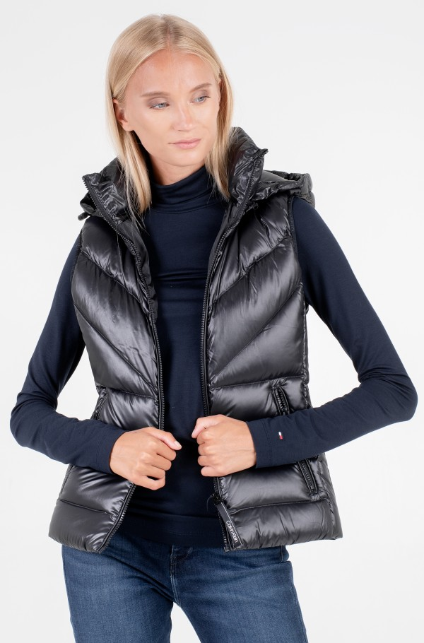 LOFTY REAL DOWN VEST-hover