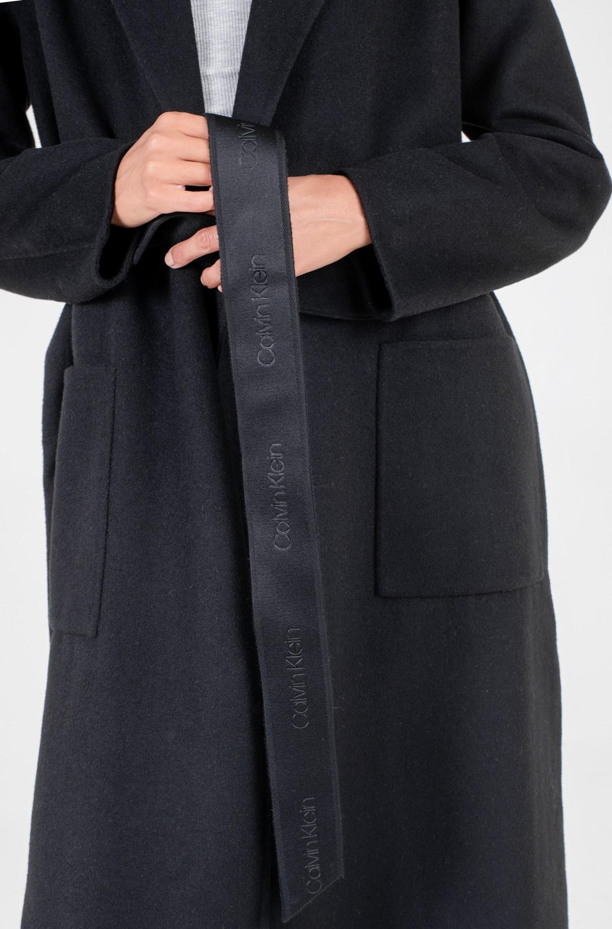 Villane mantel DOUBLE FACE LONG WRAP COAT-full-4