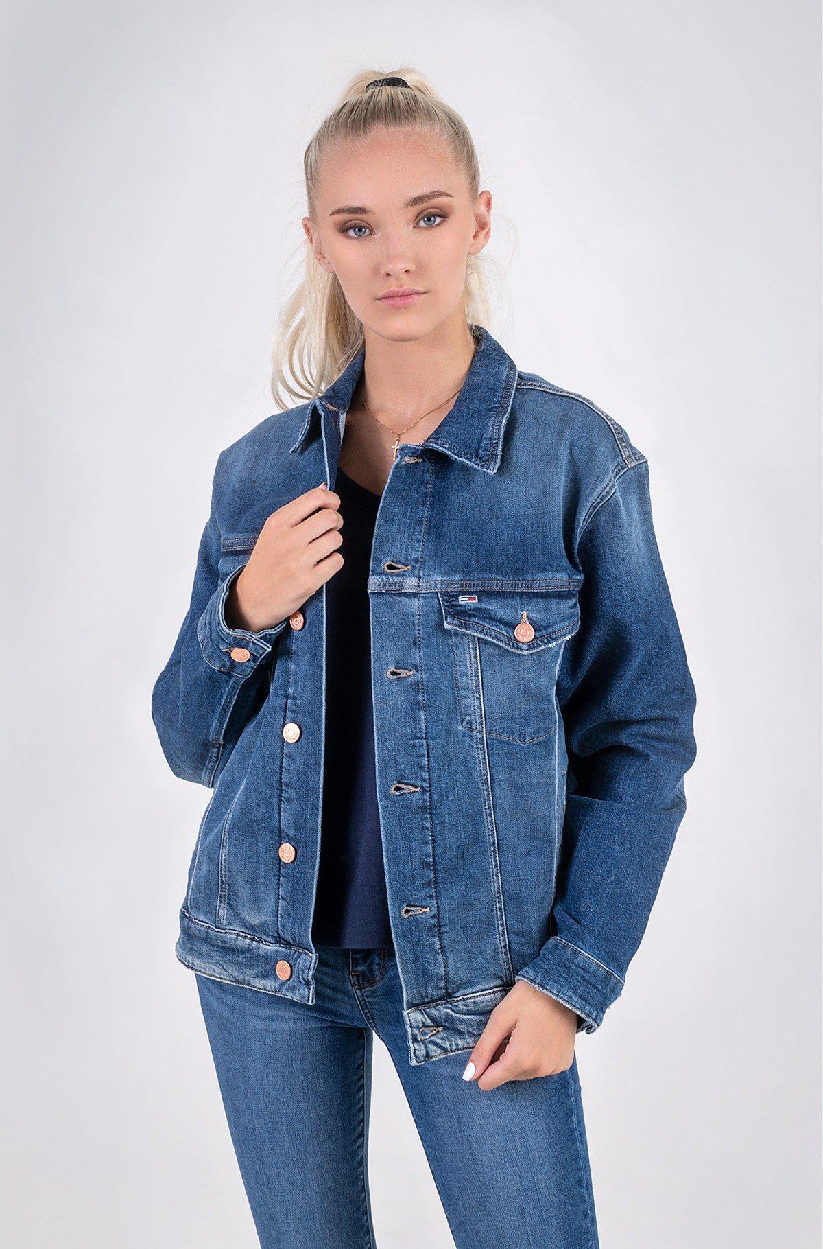 Denim jacket OVERSIZE TRUCKER JK AE632 MBC-full-1