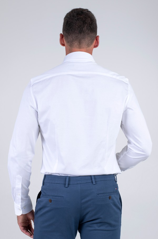 CL SOLID JERSEY SLIM SHIRT-hover