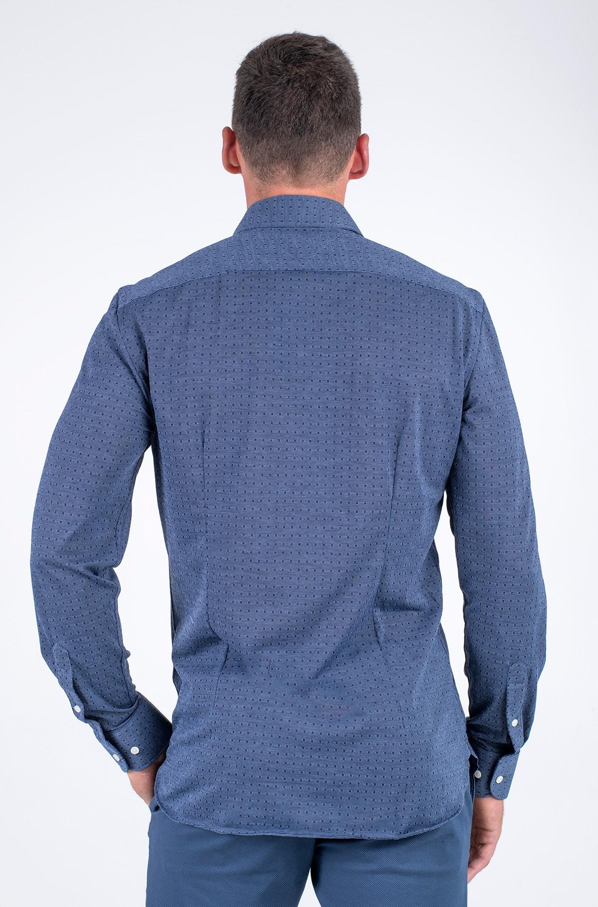 Shirt KNITTED SLIM DOT SHIRT-full-2