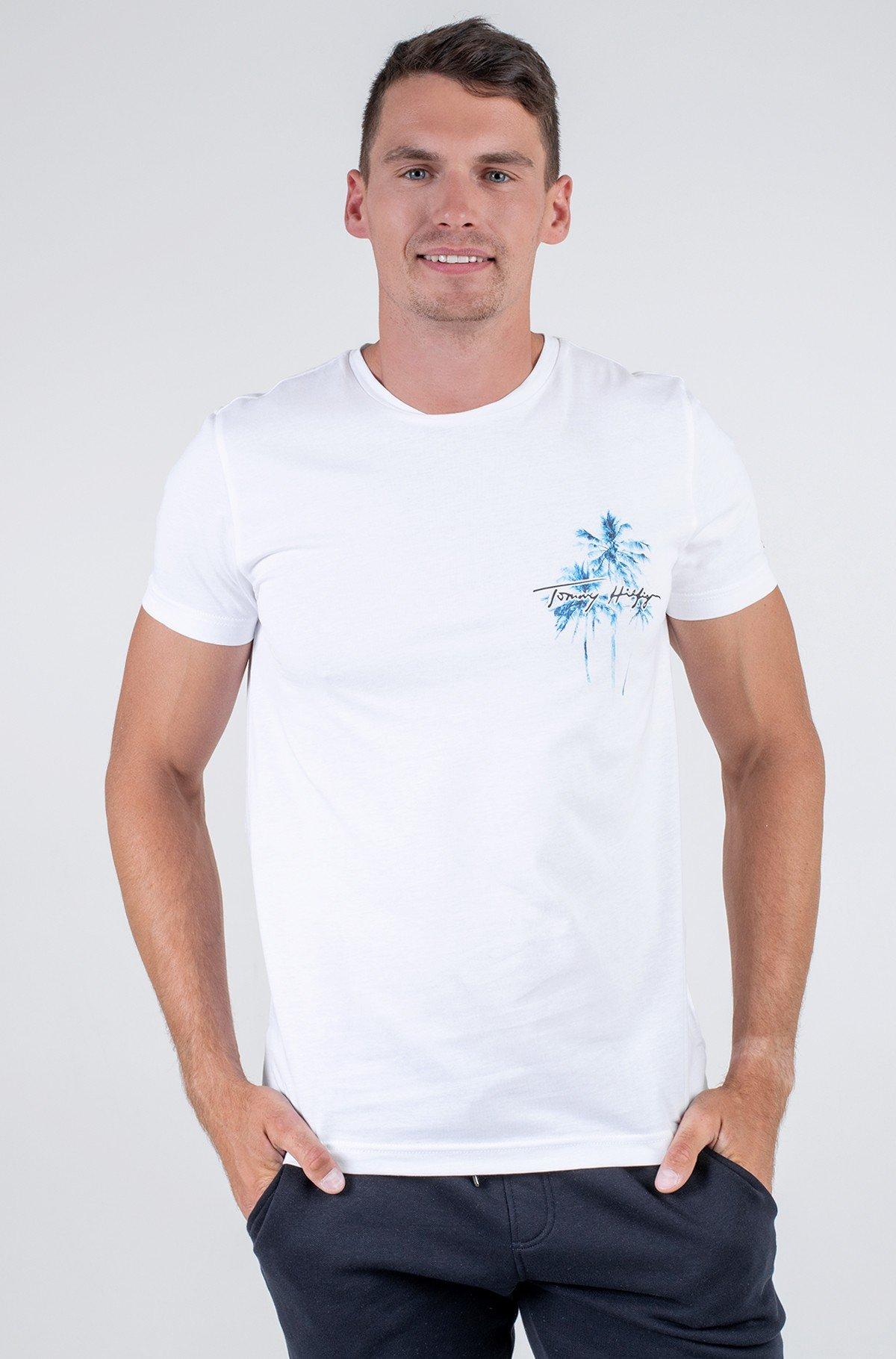T-shirt PALM BOX PRINT TEE-full-1