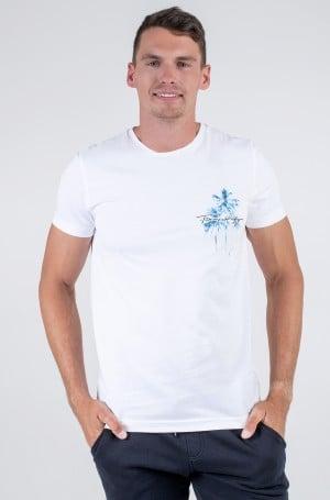 T-shirt PALM BOX PRINT TEE-1