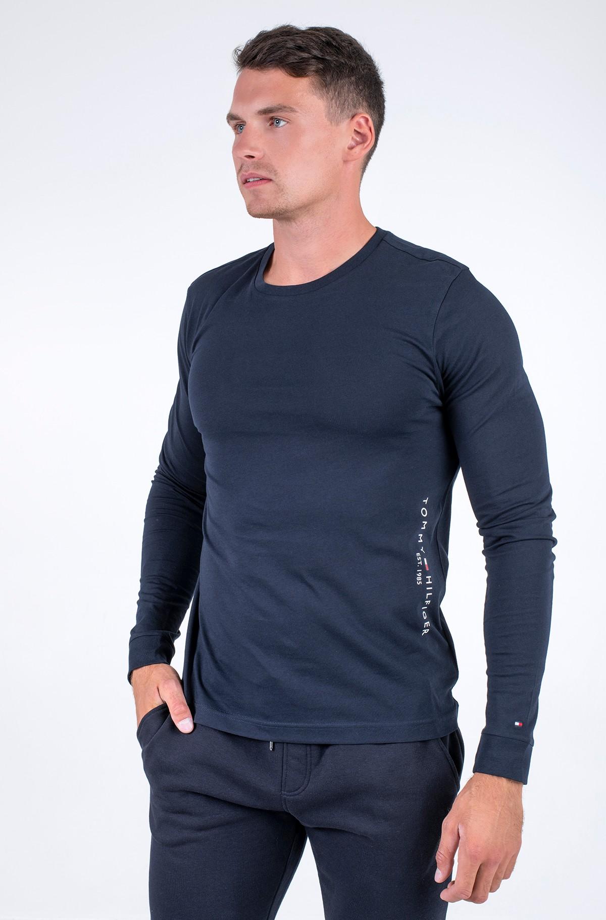 T-krekls ar garām piedurknēm  HILFIGER LOGO LONG SLEEVE TEE-full-1