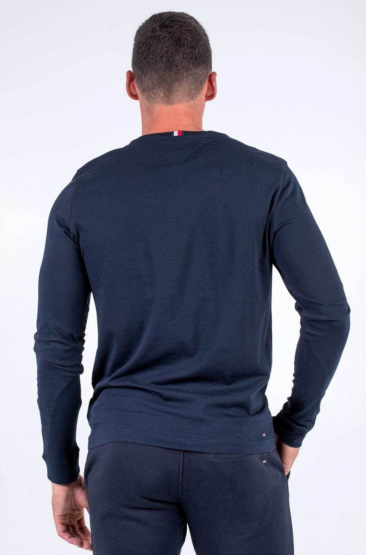 T-krekls ar garām piedurknēm  HILFIGER LOGO LONG SLEEVE TEE-full-2