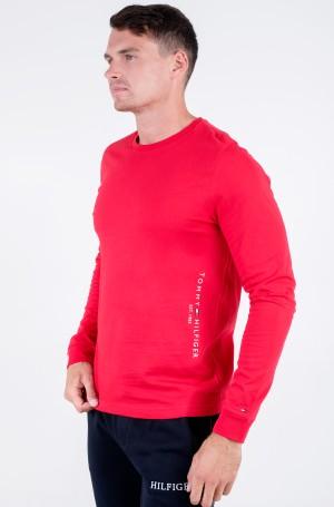 T-krekls ar garām piedurknēm  HILFIGER LOGO LONG SLEEVE TEE-1
