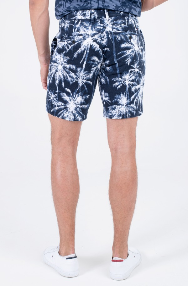 BROOKLYN TERRY PALM PRINT SHORT-hover