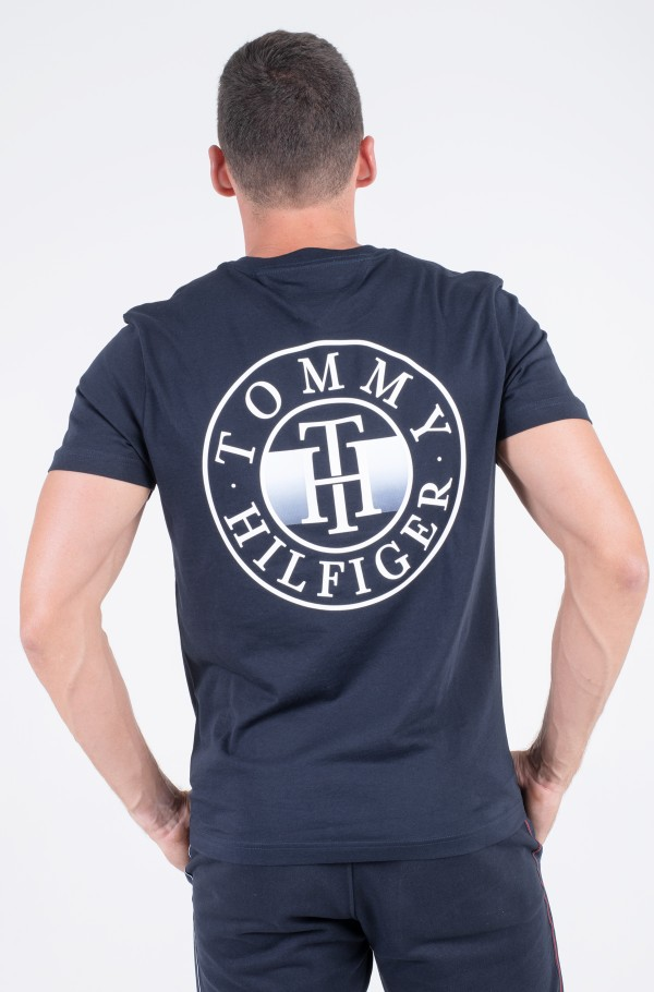 DEGRADE PRINT TEE-hover