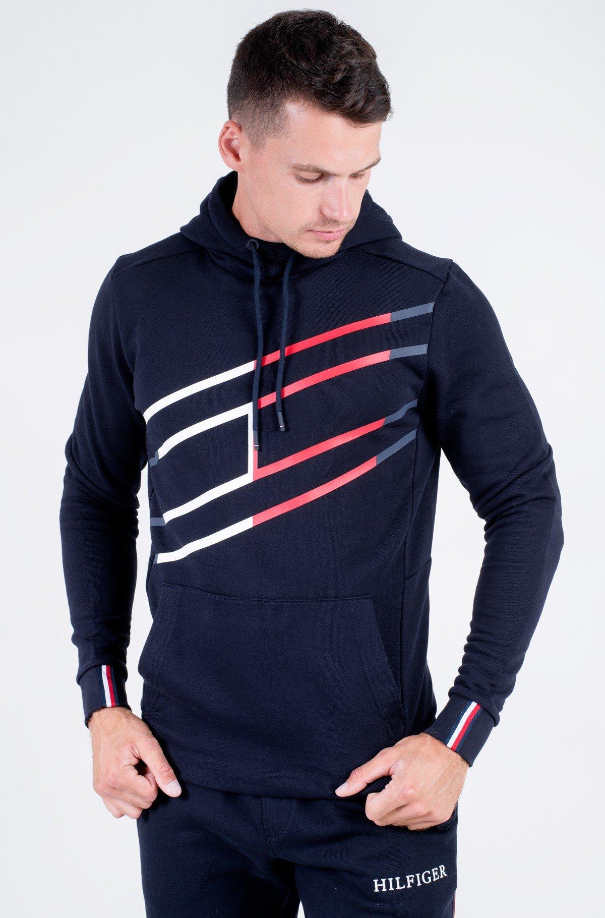 Sporta džemperis GRAPHIC HOODY-full-1
