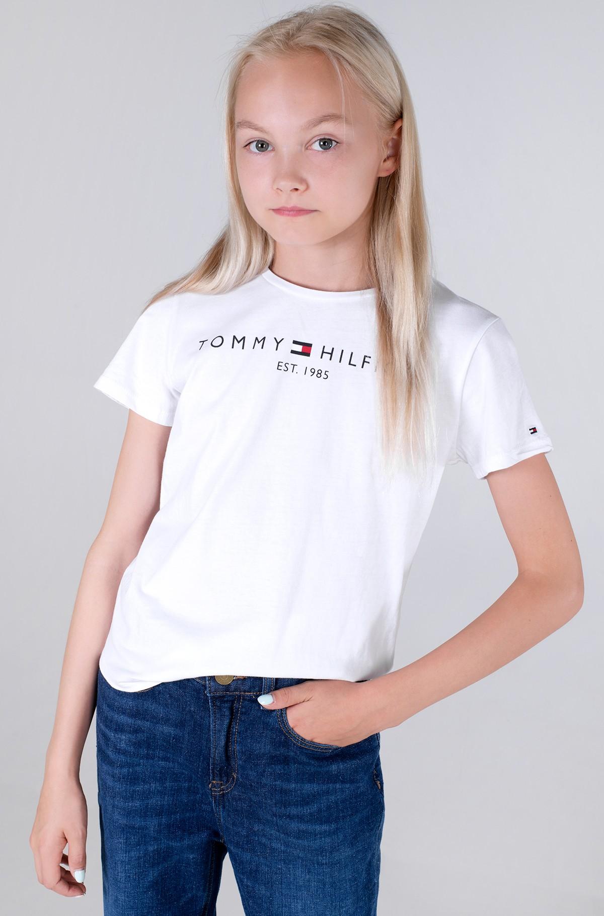 Bērnu T-krekls ESSENTIAL TEE S/S-full-1