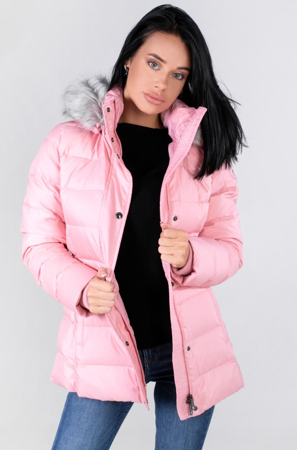 TH ESS TYRA DOWN JKT WITH FUR-hover