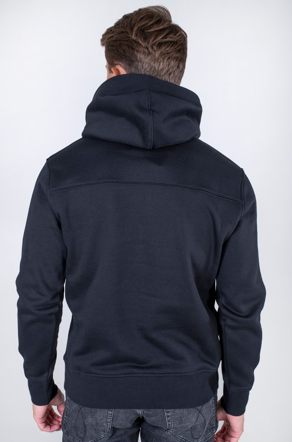 OFF PLACED ICONIC HOODIE-hover