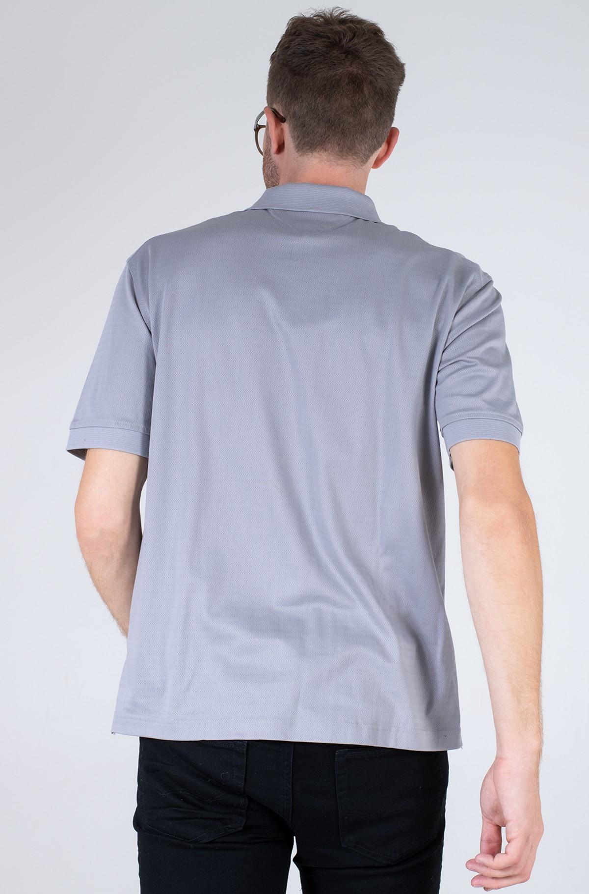 Polo krekls  ELEVATED WARP STRIPE CASUAL POLO-full-2
