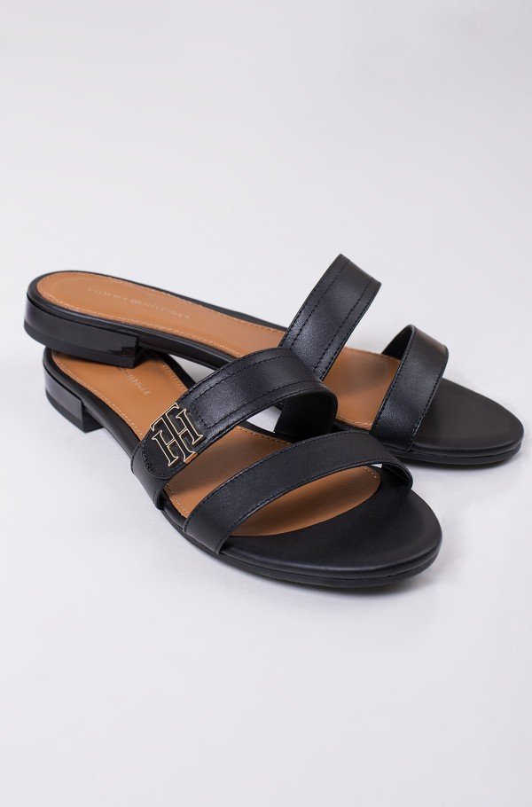 TH HARDWARE FLAT LEATHER MULE-hover