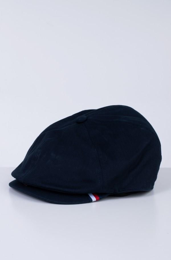 HERRINGBONE FLAT CAP-hover