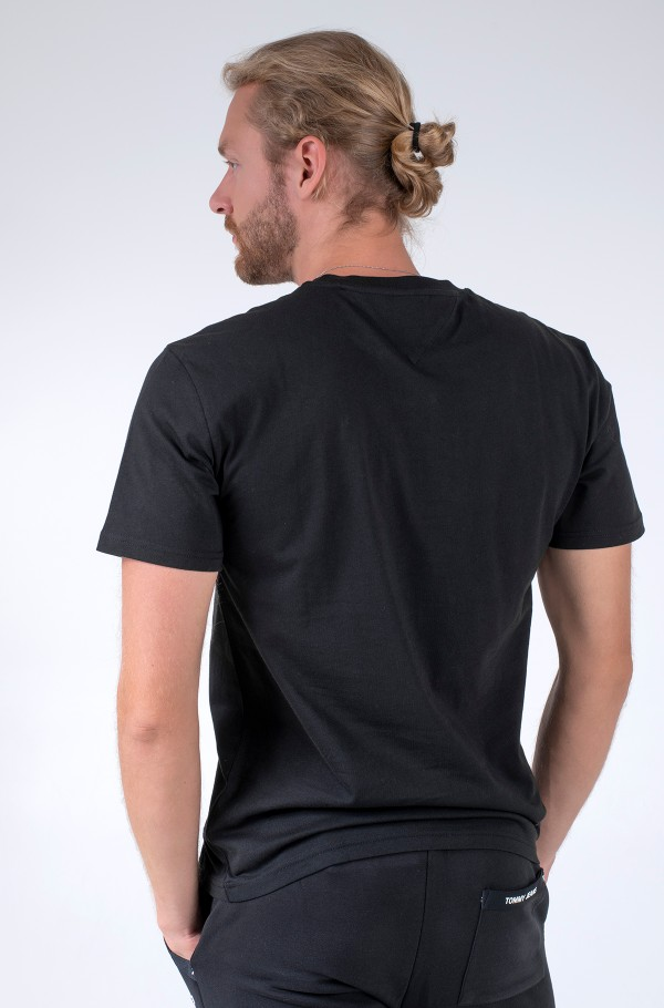 TJM SMALL TEXT TEE-hover