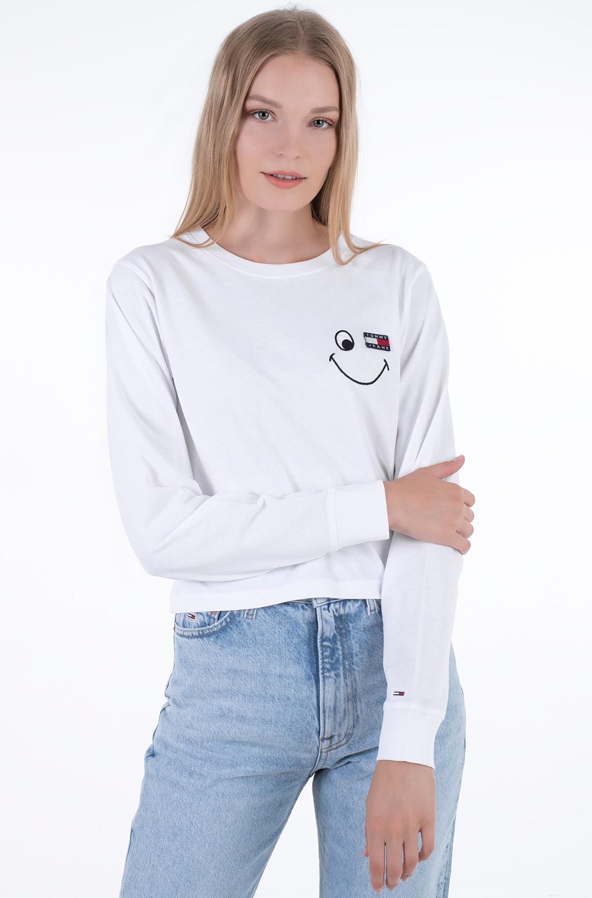 T-krekls ar garām piedurknēm  TJW REGULAR SMILEY BADGE LS-full-1