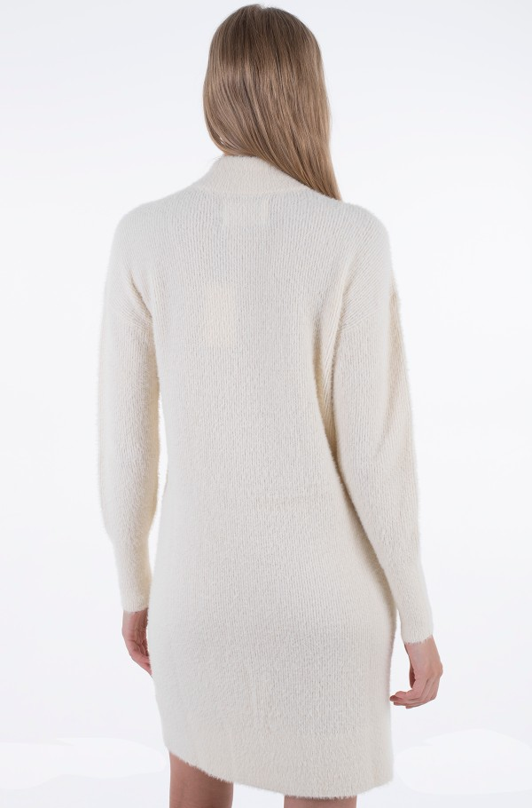 FLUFFY SWEATER DRESS-hover