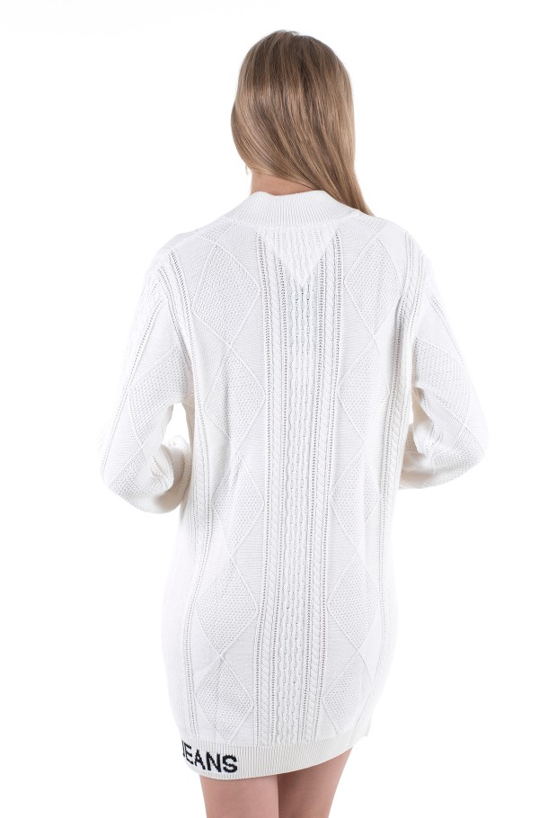 TJW CABLE SWEATER DRESS-hover