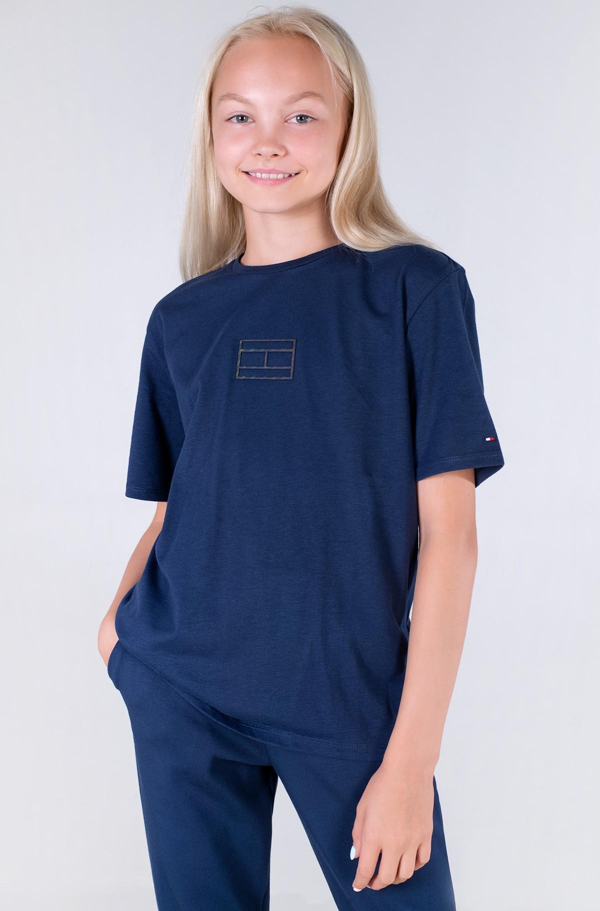 Marškinėliai TOMMY REFLECTIVE PRINT TEE S/S-full-1