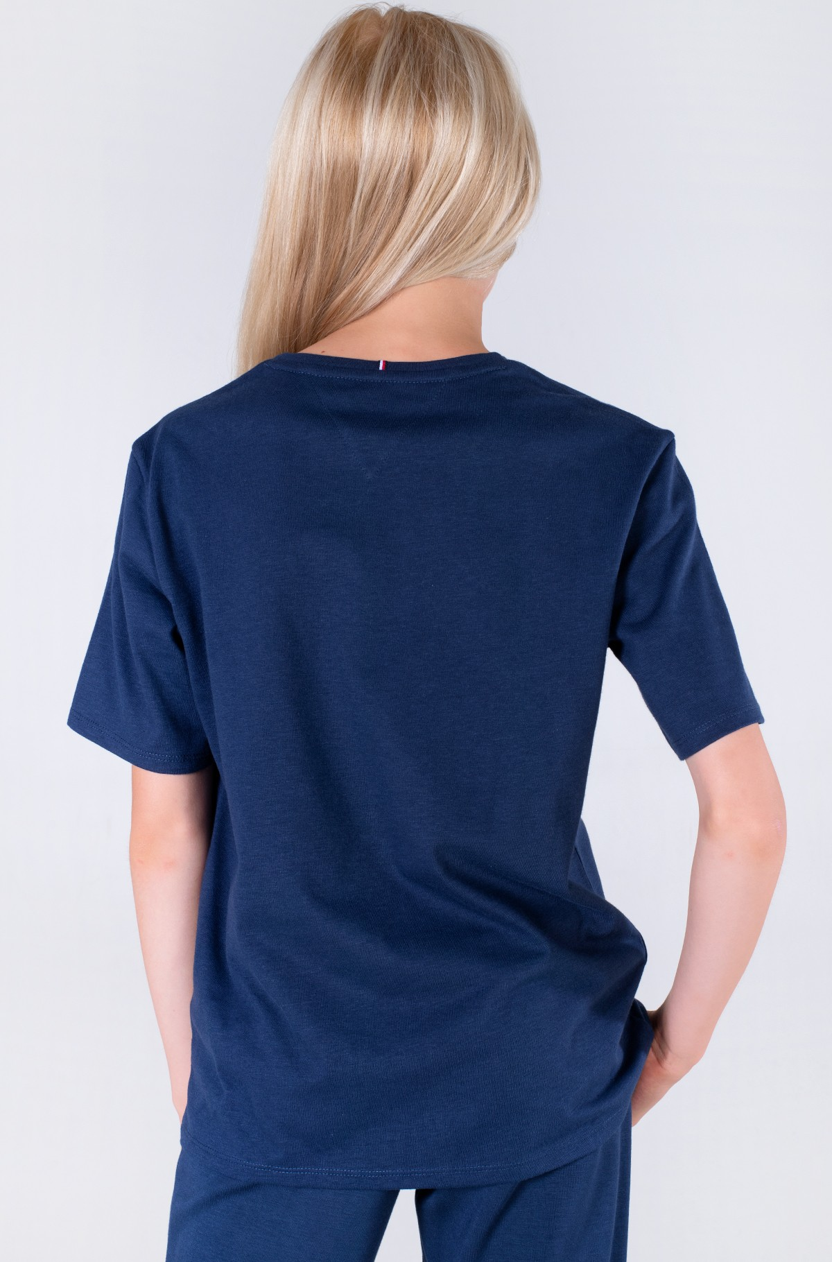 Marškinėliai TOMMY REFLECTIVE PRINT TEE S/S-full-2
