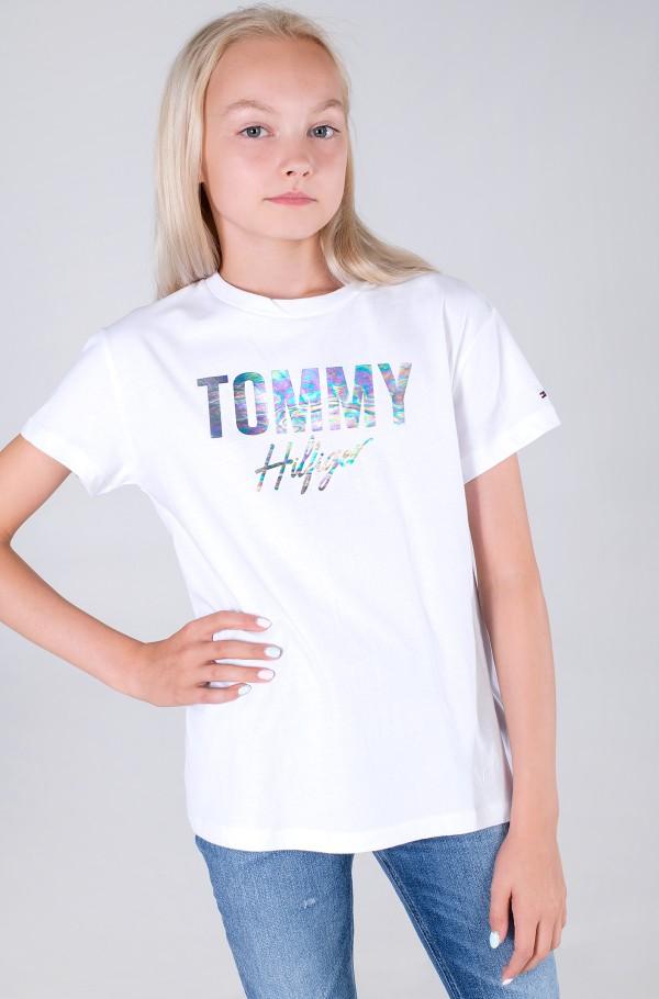 TOMMY SCRIPT TEE S/S