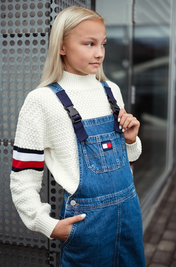 CHUNKY CABLE MOCK NECK