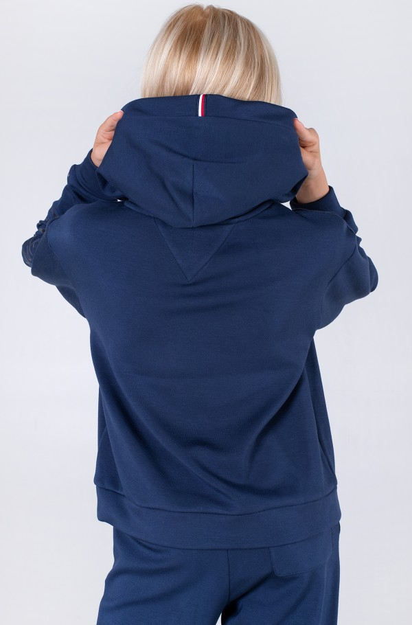 TOMMY REFLECTIVE PRINT HOODIE-hover