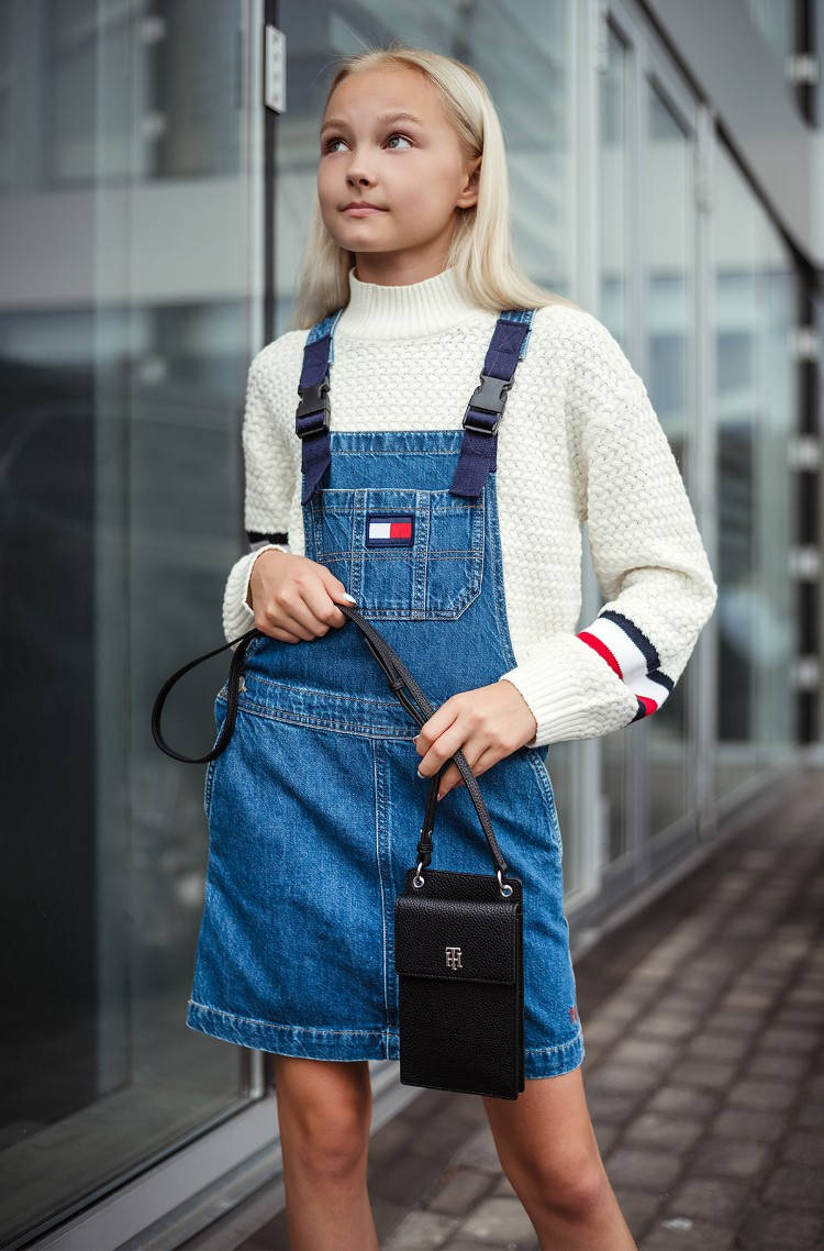 Suspender dress DUNGAREE DRESS-1