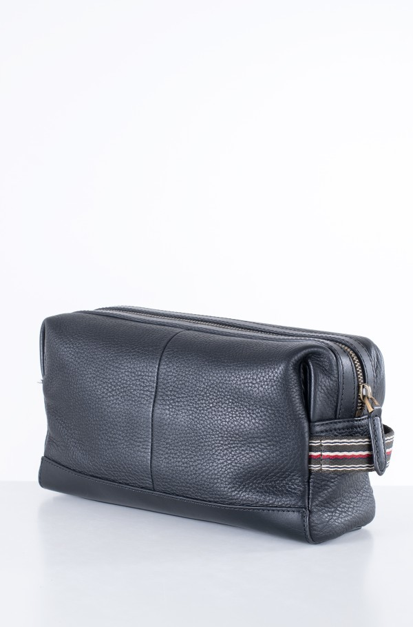 CASUAL LEATHER WASHBAG-hover