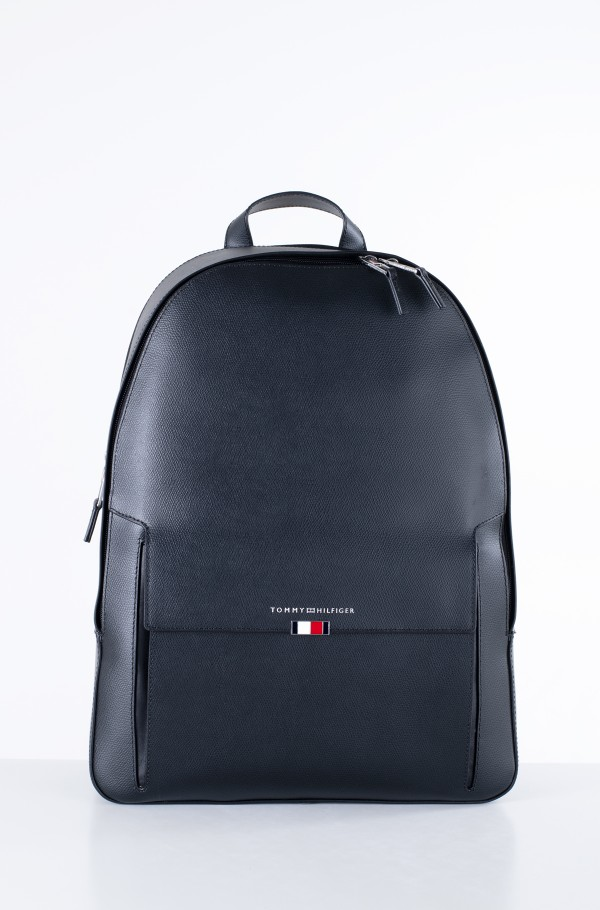 BUSINESS LEATHER BACKPACK-hover