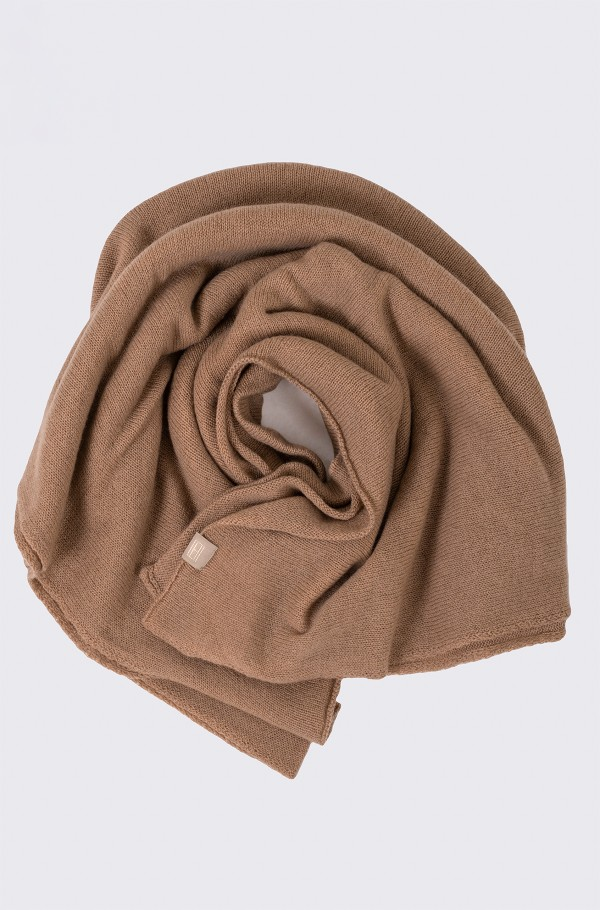 TH LUX LIGHT CASHMERE MIX SCARF-hover