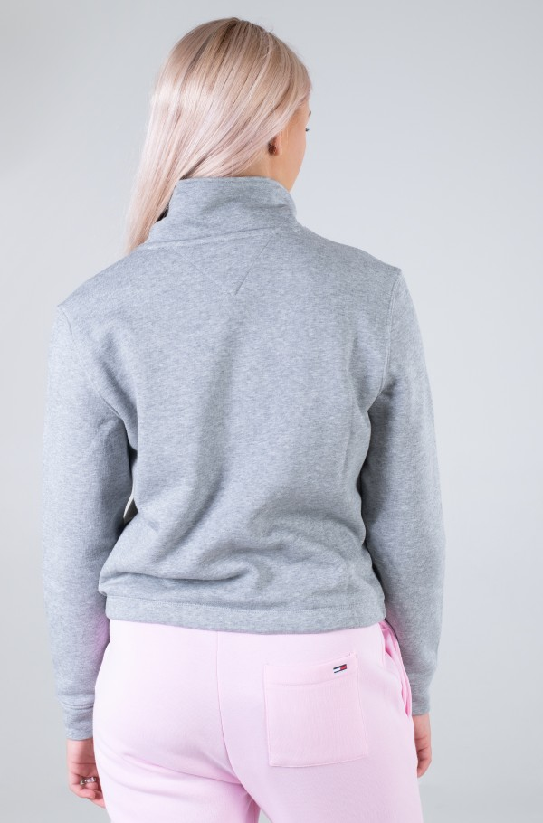 TJW RELAXED BADGE QUARTER ZIP-hover